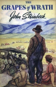 book cover grapes of wrath